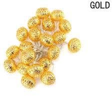 Buy RaajaOutlets 40 <b>LED</b> Moroccan Balls Fairy <b>String Lights</b> ...