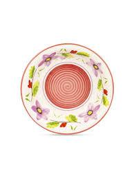 10% <b>FIORETTA</b> Набор <b>тарелок</b> суповых <b>Flower</b> fantasy 21см 6шт