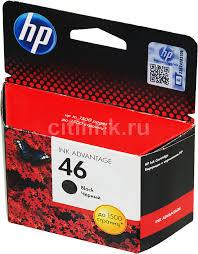 Купить <b>Картридж HP 46</b>, черный в интернет-магазине ...