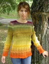 Rainbow Design - Kreatives Stricken mit Farbverlaufsgarn - Monika Haas - autumnglory_lg