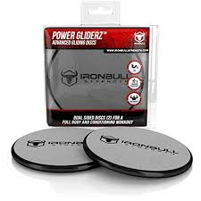 <b>Gliding Discs</b> (<b>1 Pair</b> Core Sliders) - Dual Sided for Use on Carpet or ...