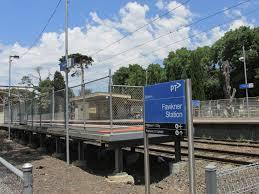 Fawkner railway station