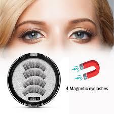 <b>Shozy</b> Magnetic eyelashes with 4 magnets <b>handmade</b> 3D magnetic ...