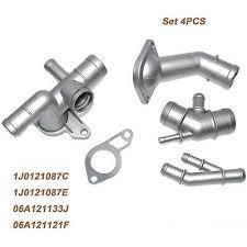 For MK4 Golf <b>Jetta GLI</b> TT 1.8T Cast Aluminum Coolant Flange ...