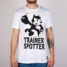 <b>Футболка TRAINERSPOTTER Felix</b> Bomb White, купить, цена с ...