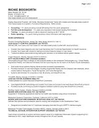 resume templates resume examples for quality assurance qa resume templates resume examples for quality assurance qa quality control resume template quality control pharmaceutical resume sample quality control