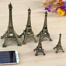 Metal Art Crafts Paris Eiffel <b>Tower</b> Travel Souvenirs Home <b>Decorations</b>