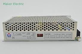 <b>T</b>-100D 100W DC24V DC5V DC12V <b>Triple</b> Output Switching Power ...
