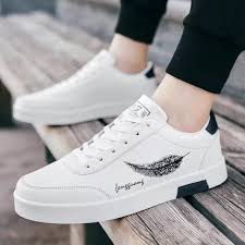 COD 2019 <b>spring new men's shoes</b> trend low to help small white ...