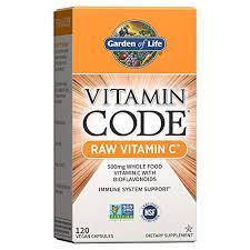 Where to buy Garden of Life <b>Vitamin Code Raw</b> Vitamin C 120 ...