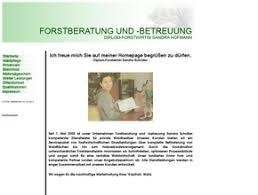 Revierförsterei Kleinleipisch Simone Streubel - forstberatung-und-betreuung-sandra-hofmann