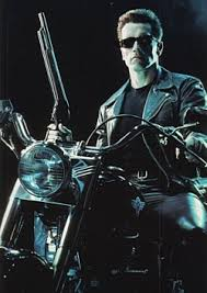 Terminator-I'll be back pe moped in RM