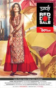 Soch <b>Clothing</b> Red <b>Hot Sale</b> Upto <b>50</b>% Off Ad - Advert Gallery