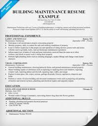 sample resume maintenance worker - Template - Template sample resume maintenance worker