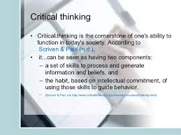 The Critical Thinking Process  Point of View  Assumptions     Wikispaces