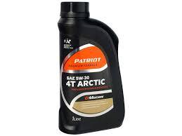 <b>Масло PATRIOT G</b>-<b>Motion</b> Arctic 5W-30 4х-тактное ...