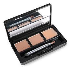 Generic <b>3 Colours</b> Waterproof <b>Eyebrow Powder</b> Shadow Palette ...