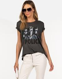 <b>The Police Ghost</b> in The Machine Classic Band Tee by Lauren Moshi