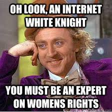 White Knight | Know Your Meme via Relatably.com