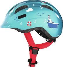 <b>Шлем</b> защитный <b>Abus Smiley 2.0</b> Море, бирюзовый, размер S (45 ...