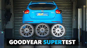 <b>Goodyear Eagle F1 Asymmetric</b> 5 vs F1 SuperSport vs SuperSport R ...