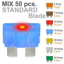 Fuses STANDARD blade <b>smart</b> regular fuse automotive 30 AMP ...