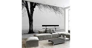 TIANXINBZ <b>Custom 3D Photo Wallpaper</b> Mural Black White Big Tree ...