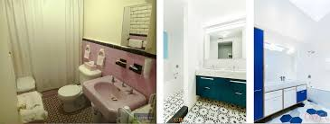 green bathroom screen shot: the original house only had one bathroom the renovations added two and a half completely