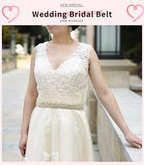 <b>TOPQUEEN Luxury</b> Belt for a Wedding Dress Bridal Belt Rhinestone ...