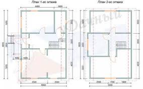 Проект №37 -Дом 104м(6х9;5,5х9)+терраса 2,5м
