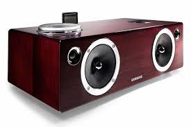 sound system wireless: samsung   watt dual audio dock amp wireless sound system for galaxy ios device airplay allshare da e