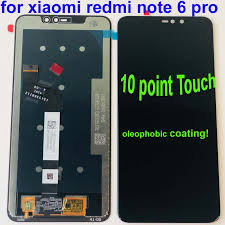 <b>Original 6.26</b> for <b>Xiaomi Redmi</b> Note 6 Pro Global LCD Display ...