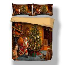 3D Printed <b>Merry Christmas Bedding</b> Set Queen/Twin/King Size ...