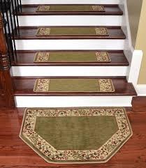 Dean <b>Tape</b> Free <b>Pet</b> Friendly Carpet <b>Stair</b> Treads Talas Floral Green ...