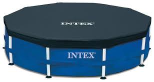 Натяжной <b>тент Intex</b> 28030 / 58036 3.05 м — купить по выгодной ...