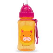 <b>Поильник</b> для детей <b>Skip Hop Zoo</b> Straw Bottle Cat (Котенок ...