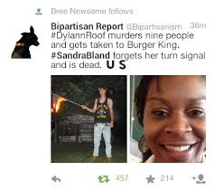 Dylann Roof Comparison | Sandra Bland's Death | Know Your Meme via Relatably.com