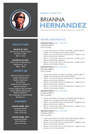 3 in 1 modern word resume template docx on behance