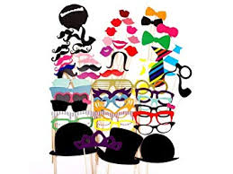 <b>New</b> Style 58 Party <b>Props</b> Photo Booth Moustache Birthday ...
