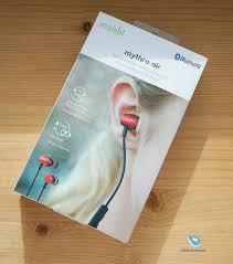 Mobile-review.com Обзор Bluetooth-гарнитуры <b>Moshi</b> Mythro Air