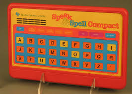 Educational toy:<b>Speak & Spell</b> Compact - Texas Instruments ...
