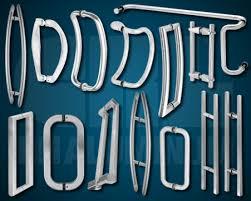 crl glass mounted door handles arched glass office doors