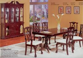 Chippendale Dining Room Table Cherry Finish Classic Formal Dining Room Table W Options