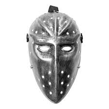 Jason <b>Mask</b> - Silver Long | Hockey <b>mask</b>, <b>Scary mask</b>, Jason <b>mask</b>
