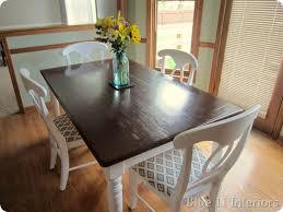 dining room set tile top