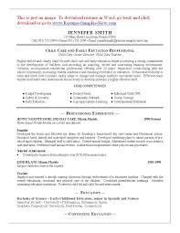 example resume for daycare teacher resume and cover letter example resume for daycare teacher substitute teacher resume example 10 resume cover letter for child care