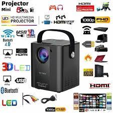 New <b>C500</b> Portable Mini <b>Projector</b> Small Mini LED Home HD ...