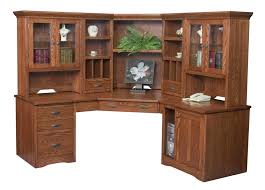 corner desk with hutch corner computer desks and desk hutch on pinterest chic corner office desk oak corner desk
