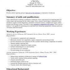 automotive technician resume summary cipanewsletter resume automotive skills diesel mechanic resume summary cover auto