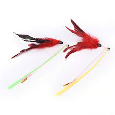 SMFish <b>1pcs</b> Plastic Random Color Fishing Rod Type <b>Bird Feather</b> ...